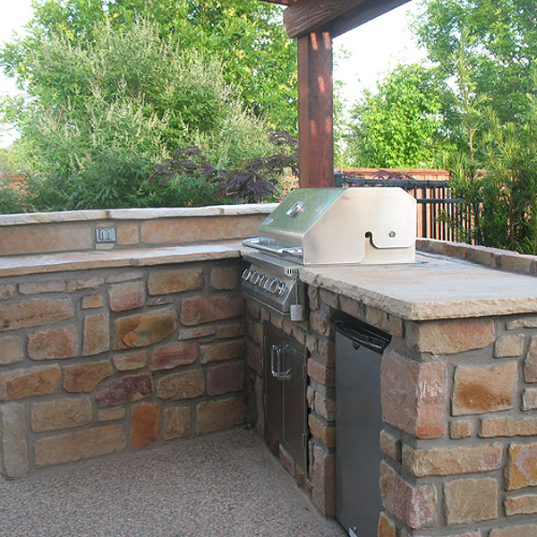 Dallas Kitchen Remodel Creative outdoor kitchens and bars - creative boundaries