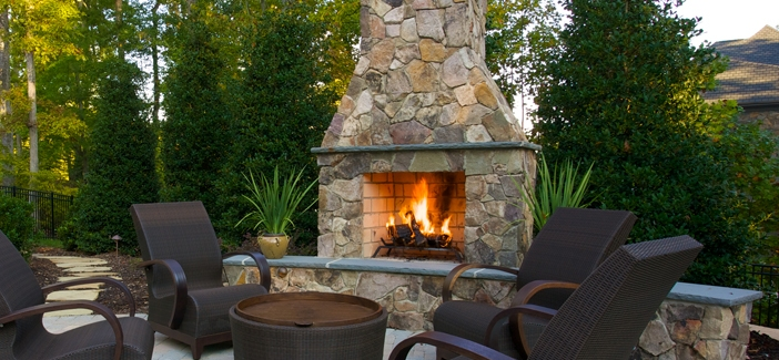 Swell A Stand Alone Outdoor Fireplace Elegance And Style Right Download Free Architecture Designs Scobabritishbridgeorg